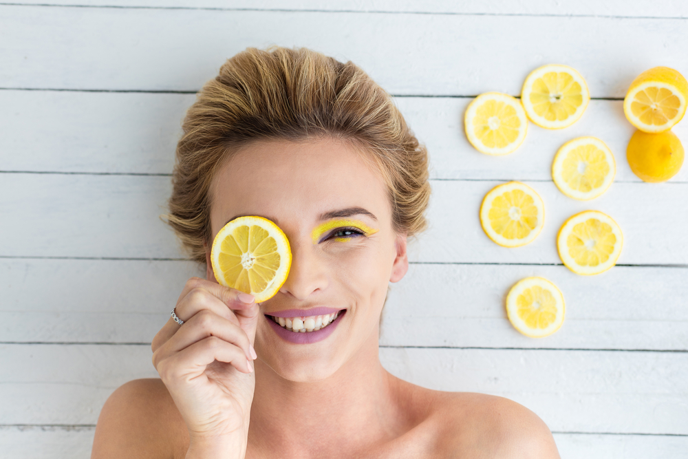 lemon clear skin