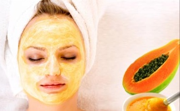 papaya face mask