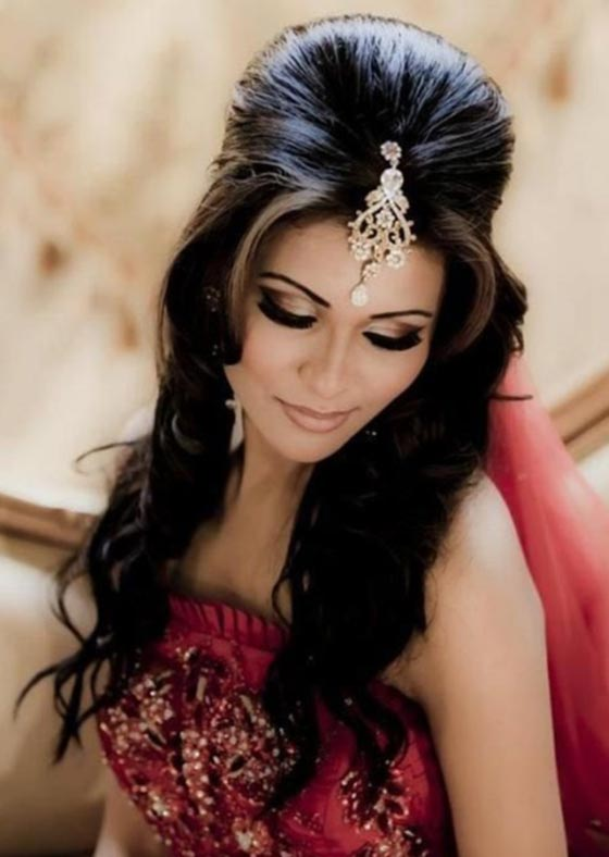 pretty indian hairstyles - pre wedding skin care