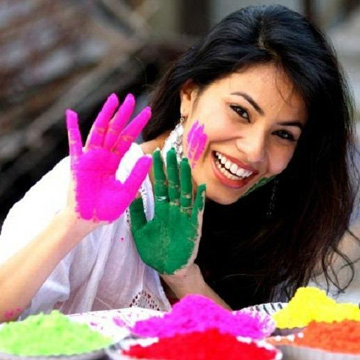 skin and hair care tips holi