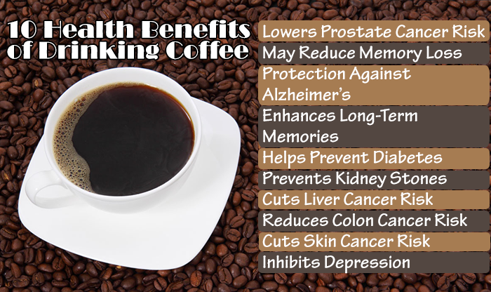 10 Scientifically Proven Benefits Of Drinking Coffee