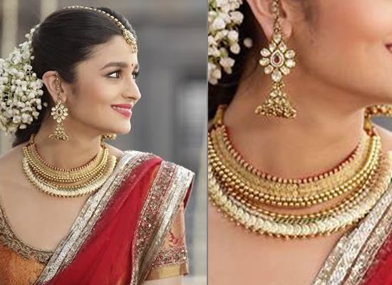 alia bhatt wedding saree - pre wedding skin care