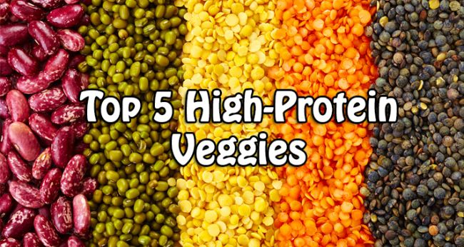 high protein veggies