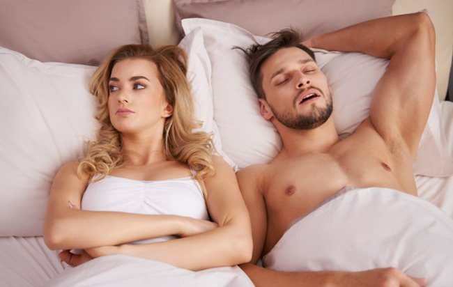 falling asleep right after sex