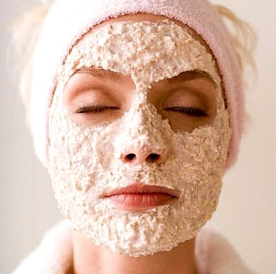 oats face mask