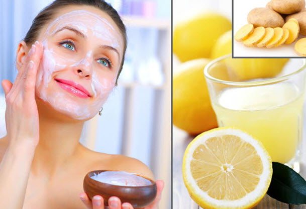 lemon juice face pack