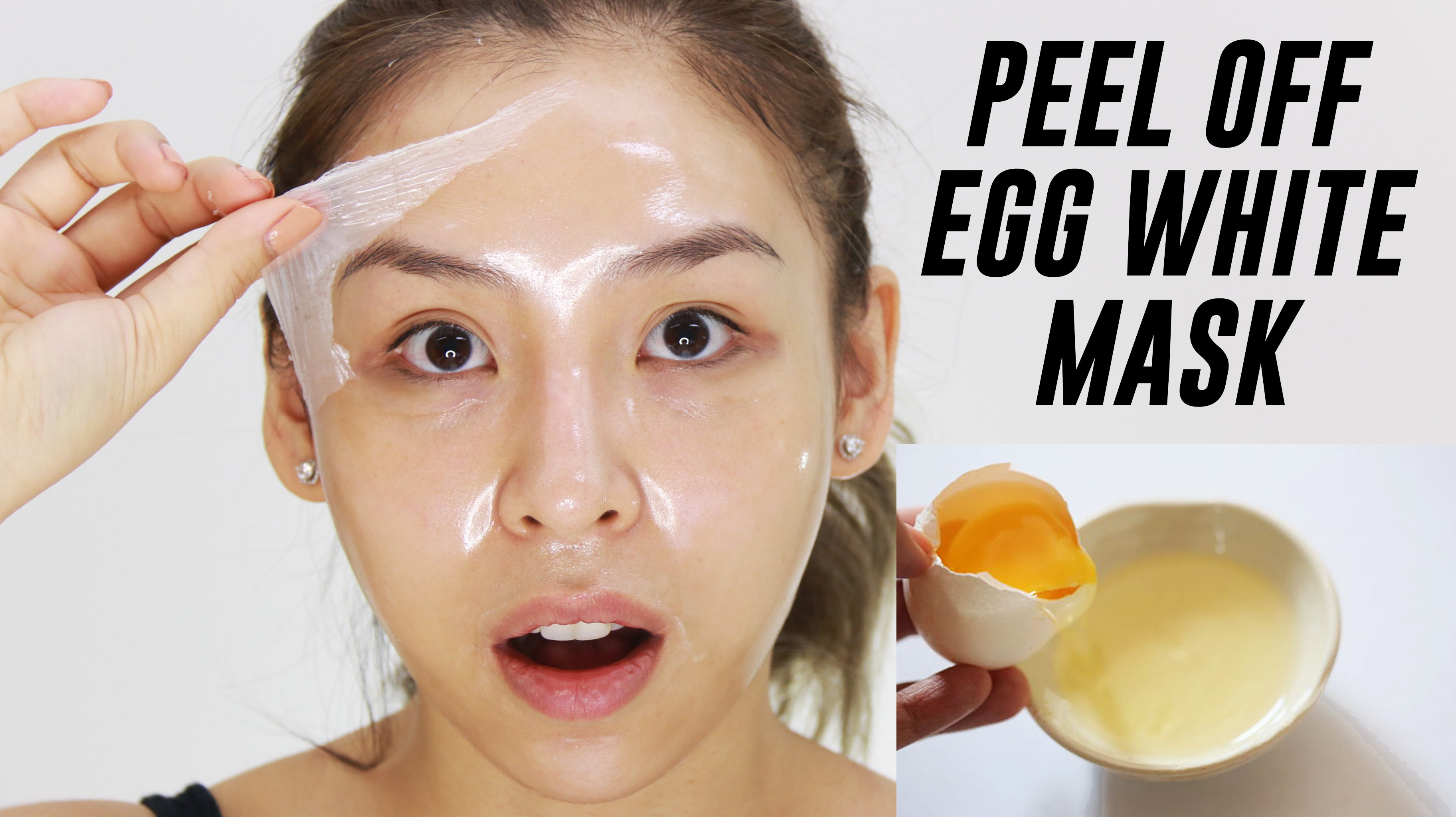 egg white face mask