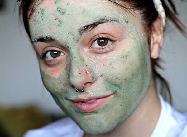 refreshing face mask