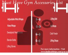 gym accessories list