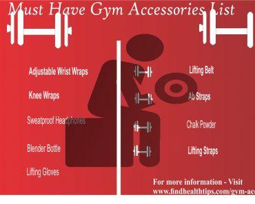 gym accessories list