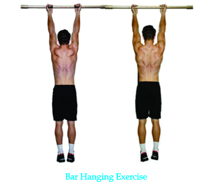 bar hanging exercise