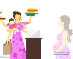 Pregnant woman confession