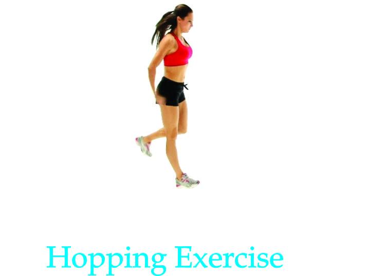 hopping exercise