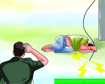 electric shock victim