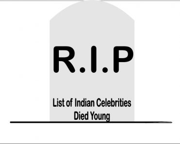 Indian Celebrities Died Young