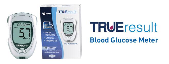 TRUE Result Blood Glucose Starter Kit