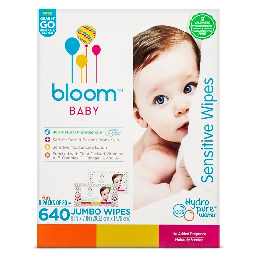 Bloom Baby Sensitive Skin Baby Wipes