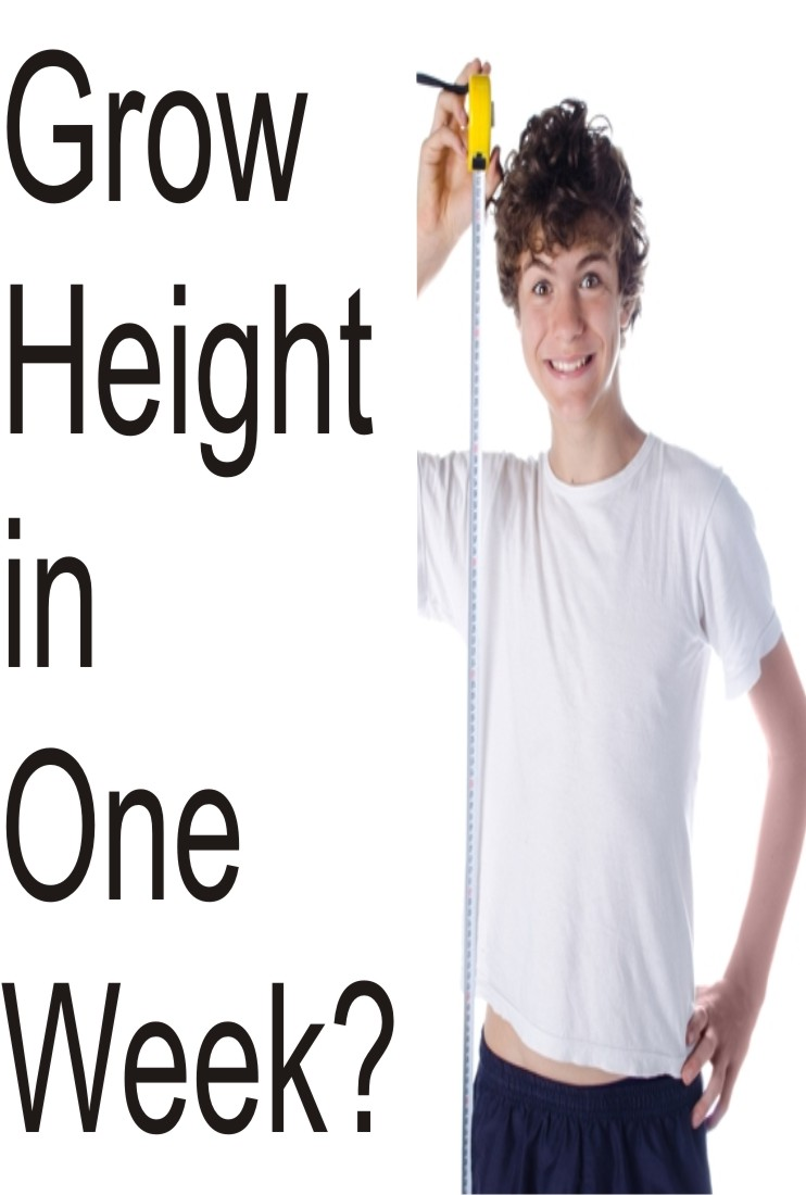 become taller in one week