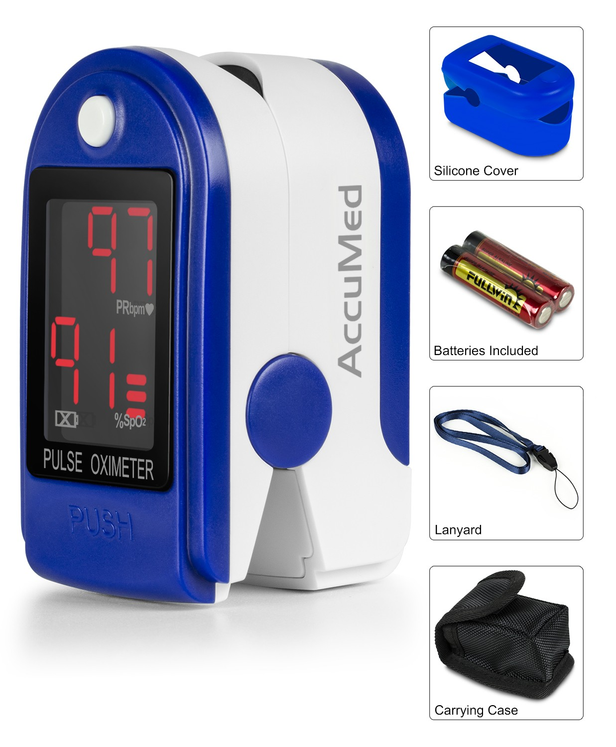 accumed cms 50dl pulse oximeter