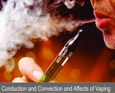 conduction convection vaping