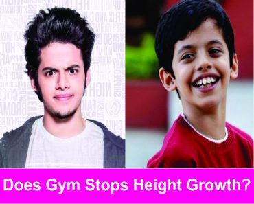 does gym stop height growth