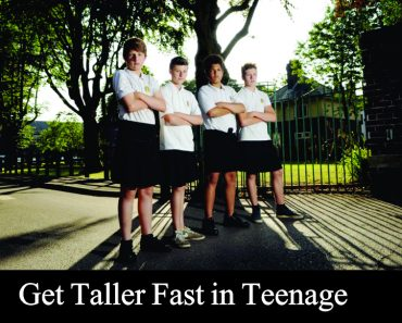 how to get taller fast teenage