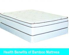 health benefits bamboo mattress