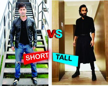 short height vs tall height