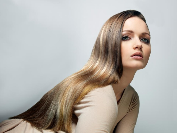 sleek and chic hair day