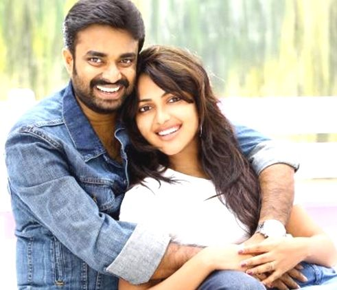 Amala Paul with her husband