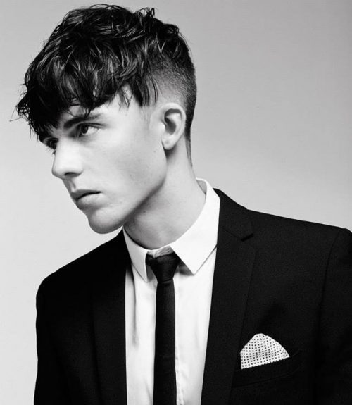 Angular Fringe Popular Haircuts For Men in 2018
