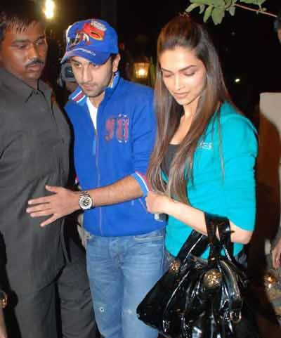 Deepika No Makeup Look with her Ex Boyfriend