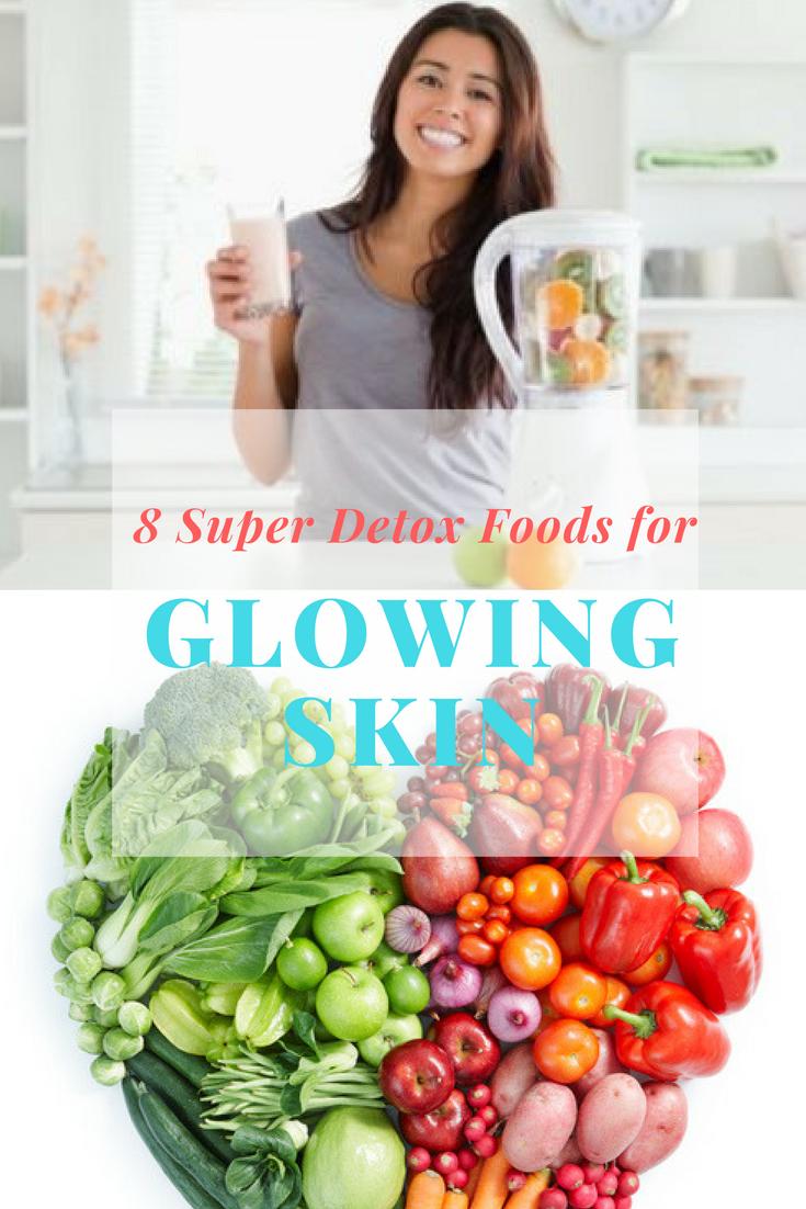 Detox Food for Glowing Skin