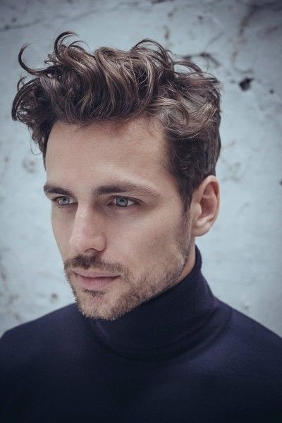 Fountain Curls Popular Haircut For Men in 2018
