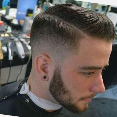 Hard Side Part Popular Haircut For Men in 2018