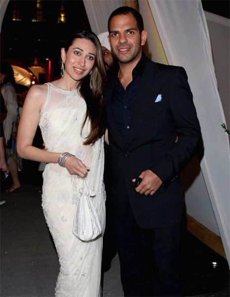 Karisma Kapoor with her Ex husband Sanjay
