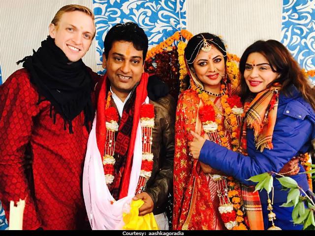 Kavita Kaushik & Ronnit Biswas Wedding 2017