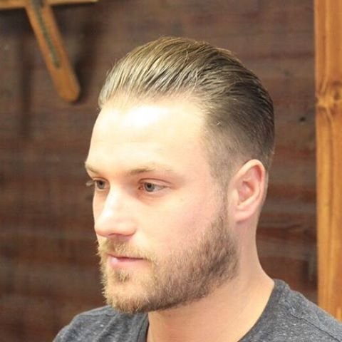 Medium Plough Back Popular Haircut For Men in 2018