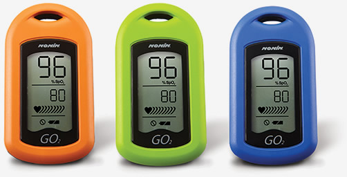 Nonin Medical GO2 Fingertip Pulse Oximeter