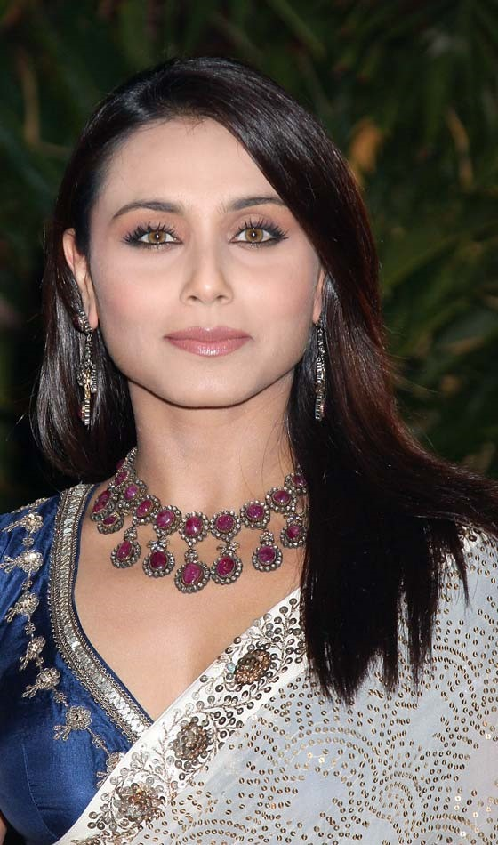 Rani Mukherjee Bollywood Actress Hairstyle
