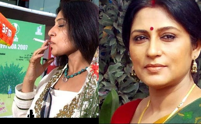 Rupa Ganguly Smoking Real Life