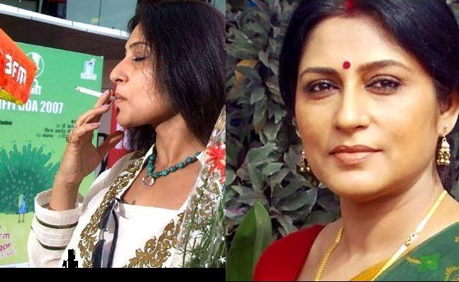 Rupa Ganguly Smoking Real Life