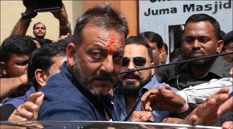 Sanjay Dutt No makeup