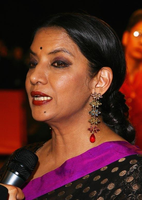 Shabana Azmi Bollywood Actress Hairstyle