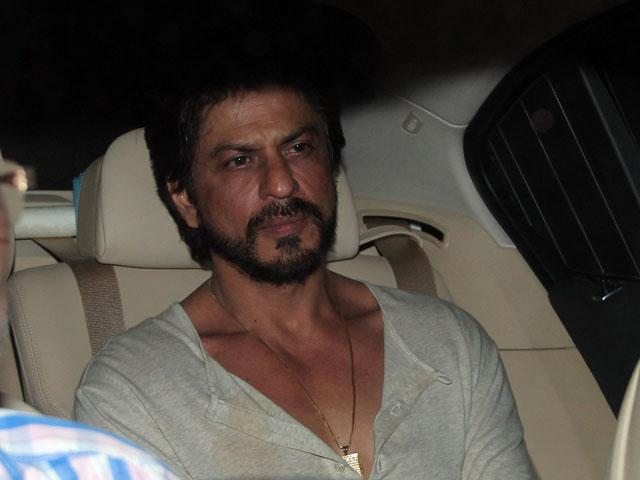 Shahrukh Khan No Makeup