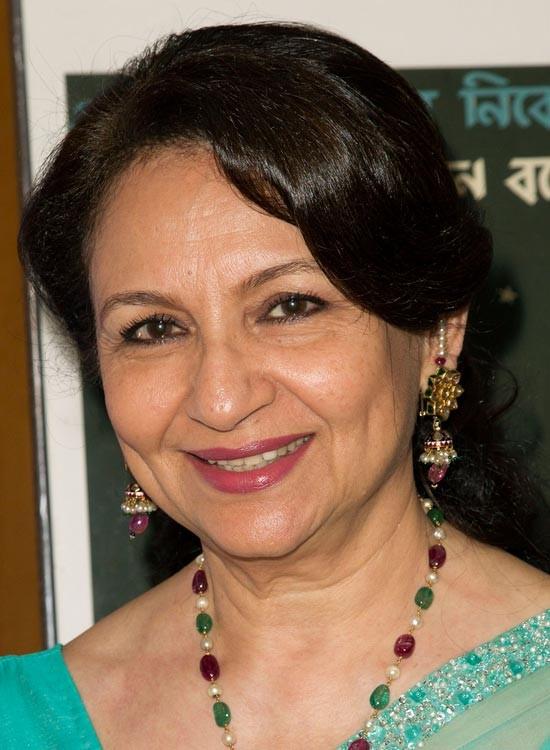 Sharmila Tagore Bollywood Actress Hairstyle