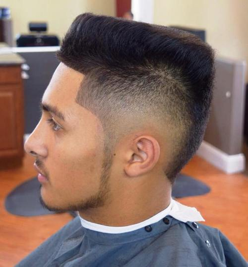 Slanting Top Cut Popular Haircut For Men in 2018
