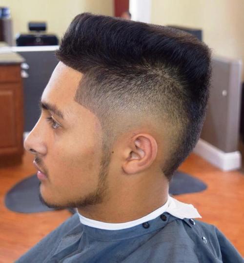 Slanting Top Cut Popular Haircut For Men in 2018