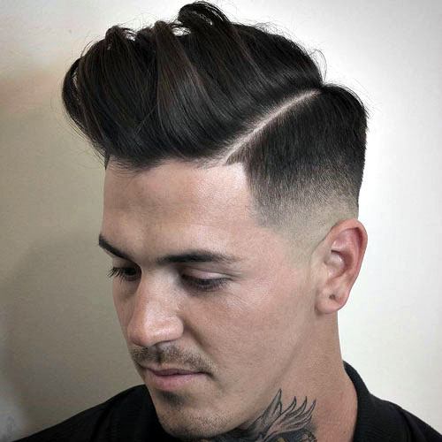 Slicked Undercut Popular Haircut For Men in 2018