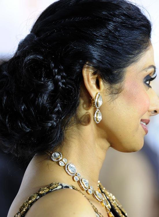 Sridevi Bollywood Actress Hairstyle